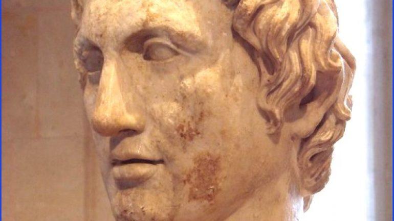 Büyük İskenderin Tahta Çıkışı