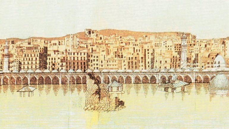 Osmanlı Dönemi Kabe'nin Selden Yıkılışı