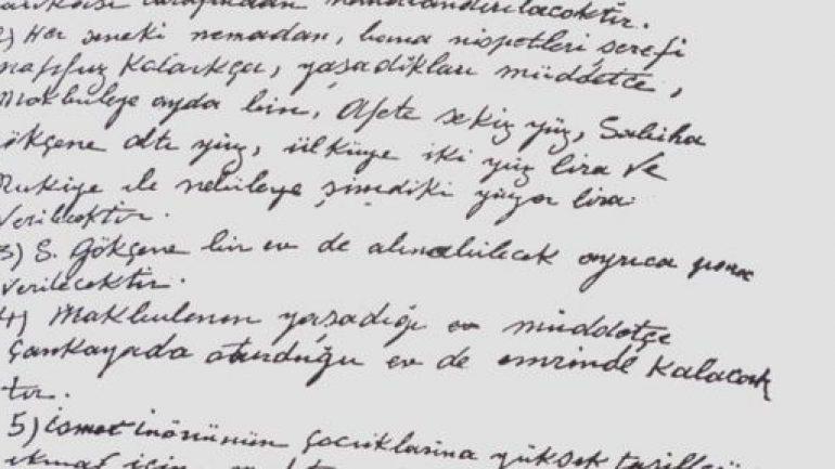 Atatürk'ün Vasiyeti