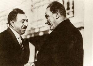 27 Mayıs 1928 Cumhurbaşkanı Gazi Mustafa Kemal, Afgan Kralı Amanullah Han ile