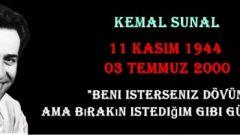 Kemal Sunal'ın 14. Ölüm Yıl Dönümü – 11 Kasım 1944 – 3 Temmuz 2000