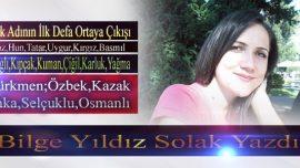 Türk Adının İlk Defa Ortaya Çıkışı