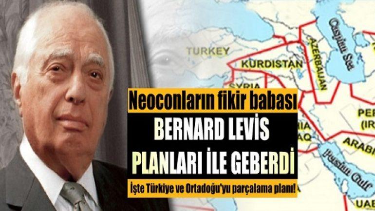 Türkiye ve Ortadoğu'yu parçalama planı!