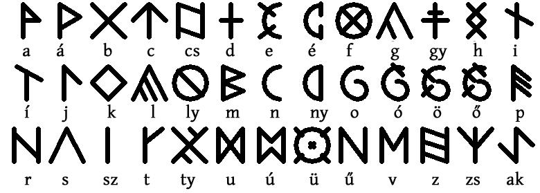 Ungarische Runen