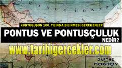 Pontus Olayı Nedir  Mücadele Döneminde Pontus Meselesi