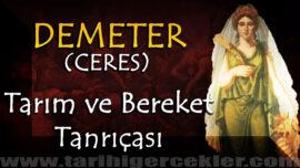 Yunan Tanrıçası Tarım ve Bereket Tanrıçası Demeter